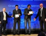 Zanetti premiato alla Junior Tim Cup